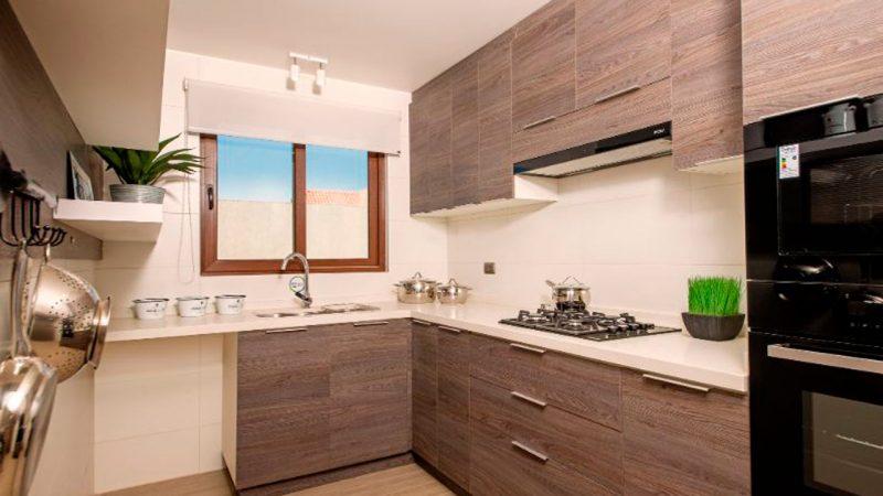 muebles de cocina en departamento
