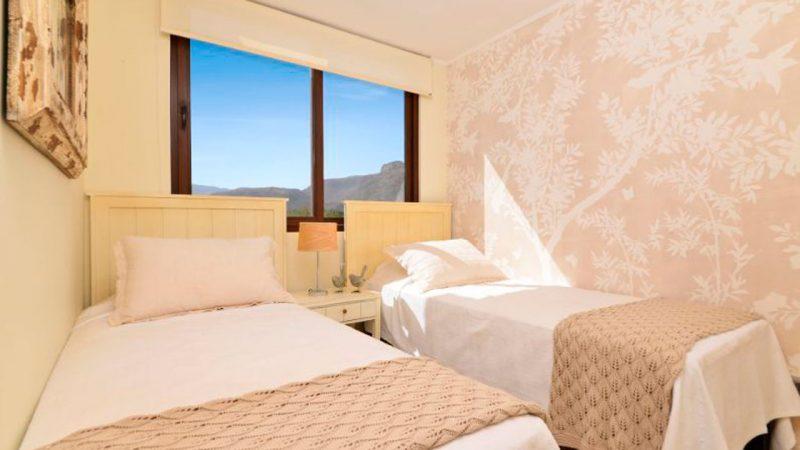 camas del dormitorio