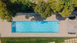 piscina desde arriba